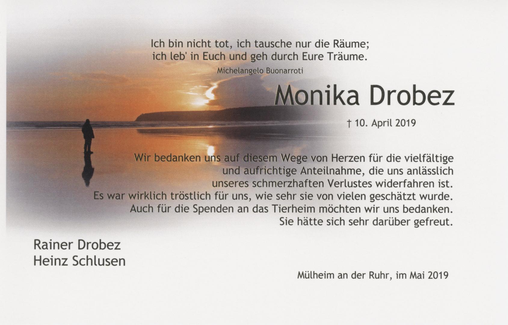 Drobez Dankkarte