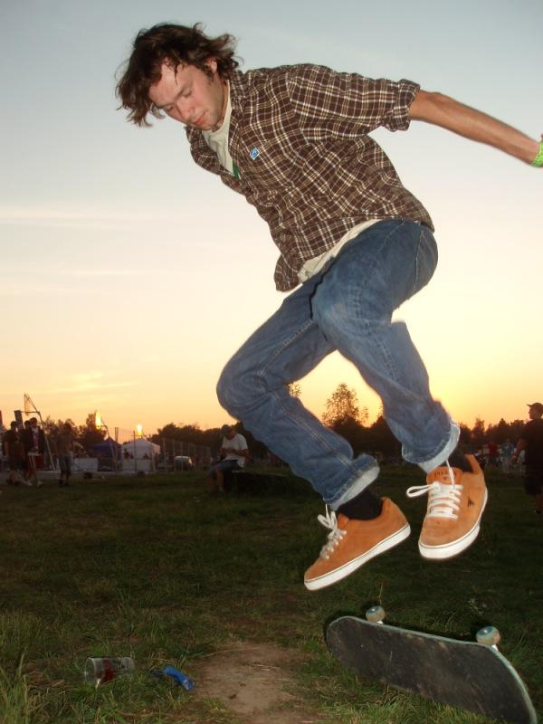 drofski am skaten @ hiphop kemp