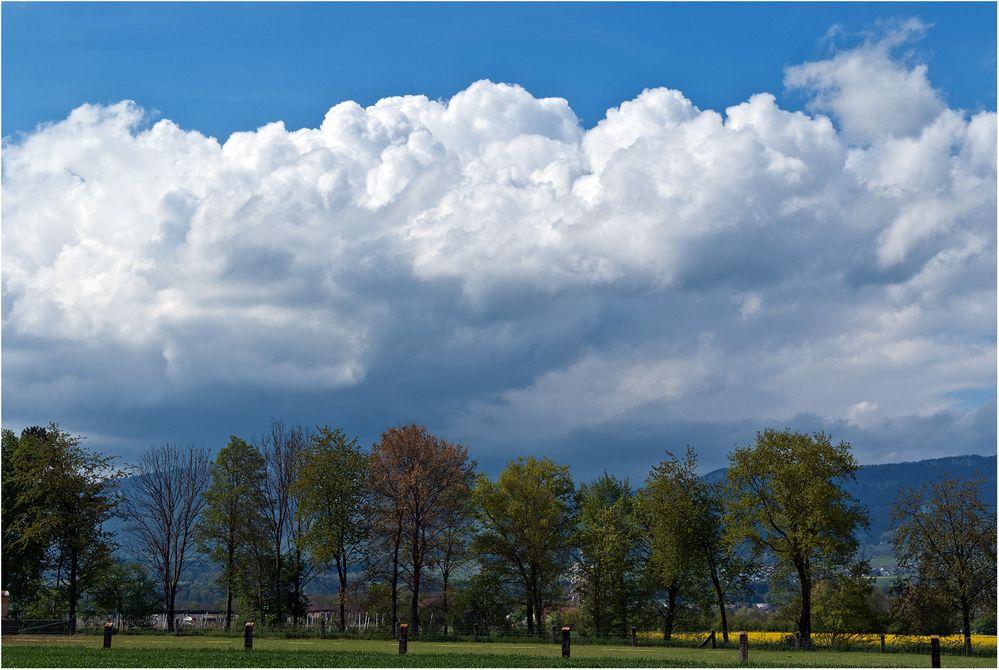 Drohende Wolken...