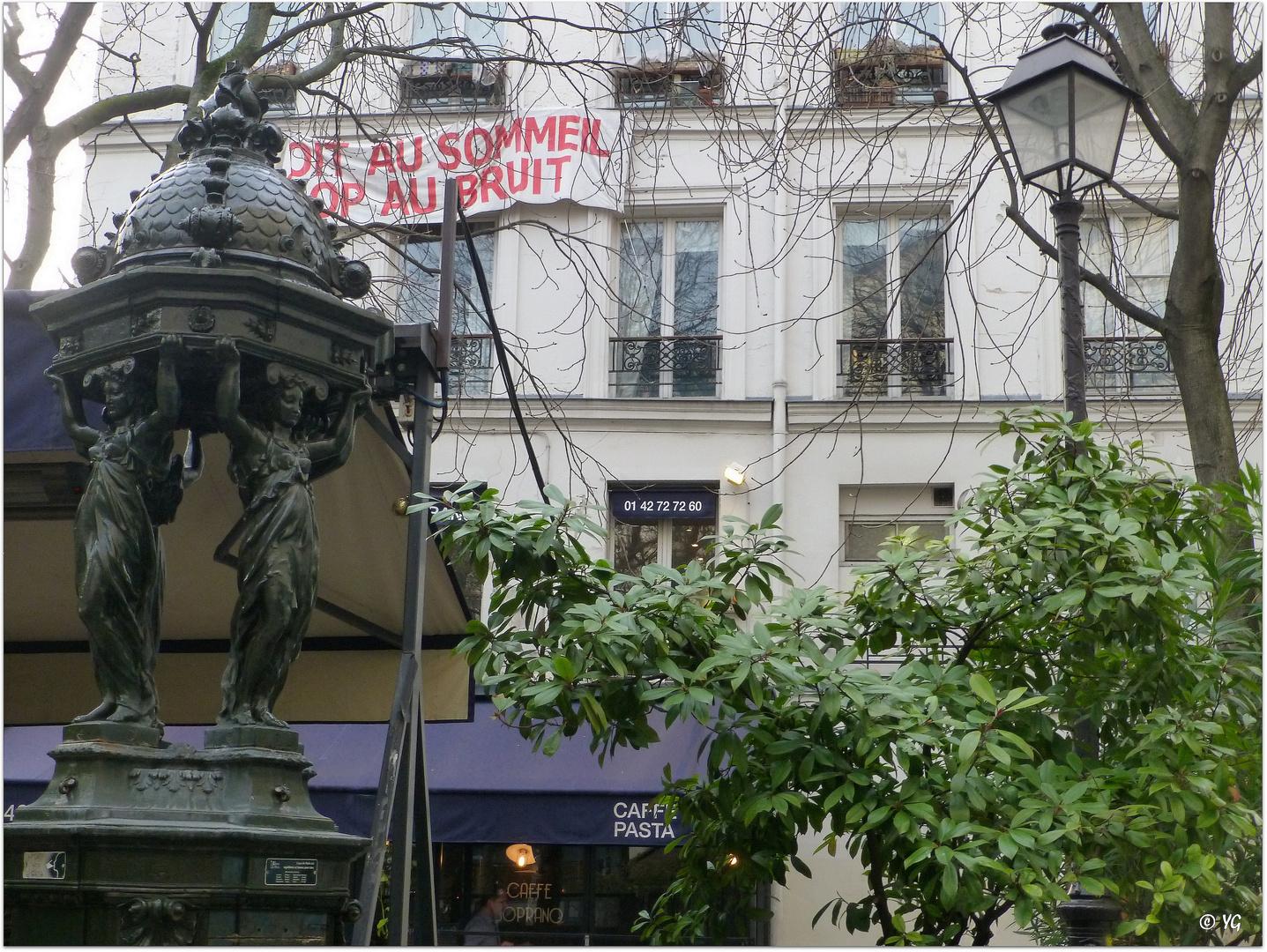 """""""Droit au sommeil. Stop au bruit.""""..."""