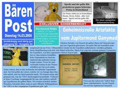 Druckfrisch 14.03.2006 00:36 Ausgabe 2 der Bären Post
