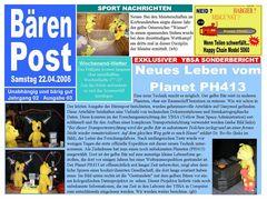 Druckfrisch 22.04.2006 00:47 Ausgabe 3 der Bären Post