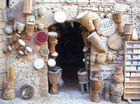 Drum store in Essaouira