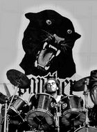 Drumming by-Panther-,Year 1985.