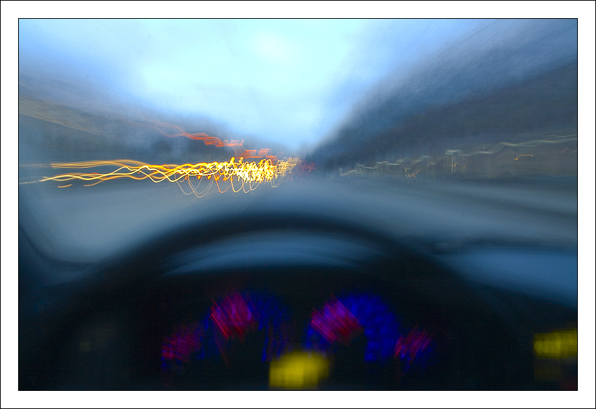 Drunk driving...