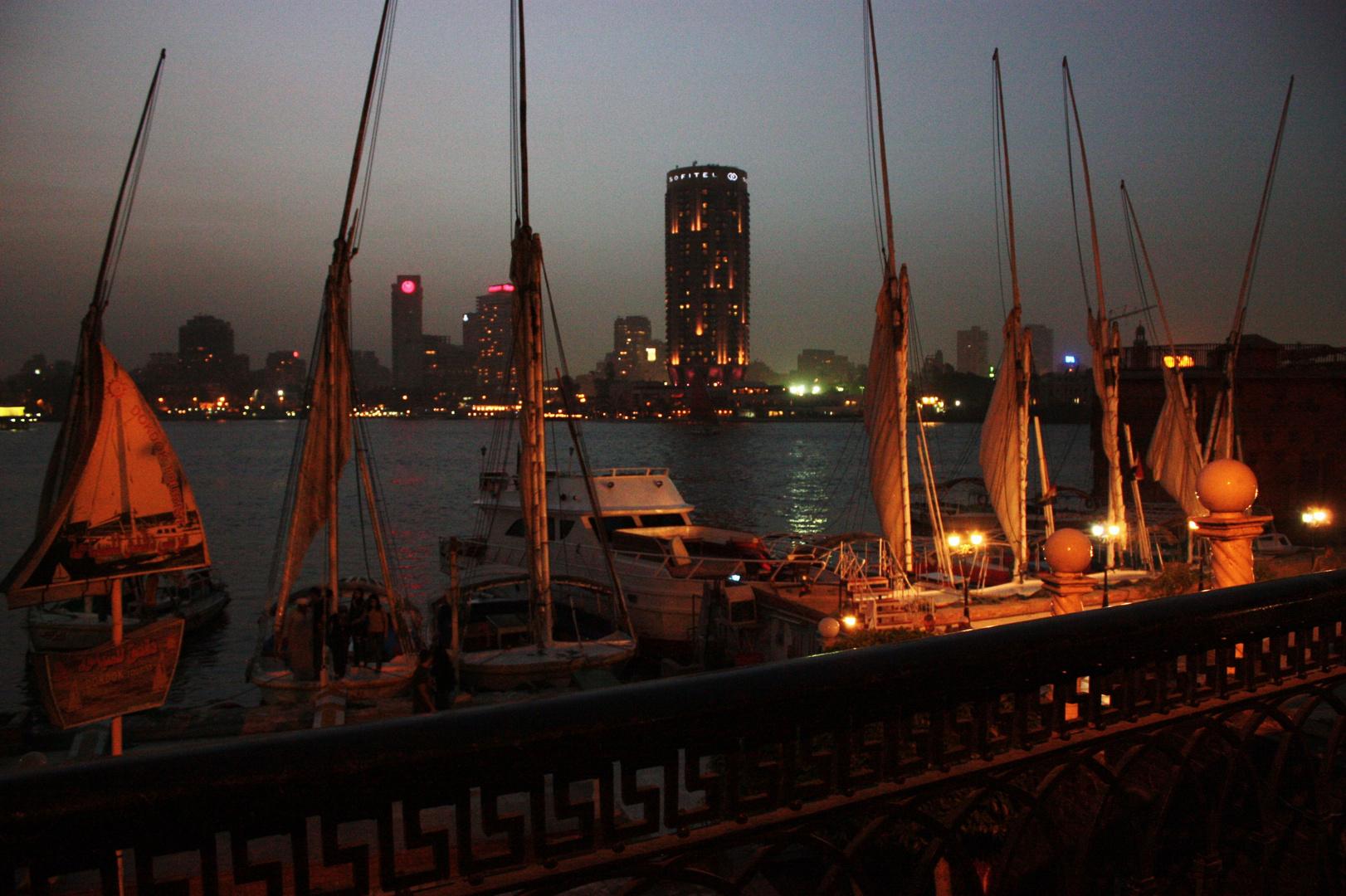 Dschunken am Nil