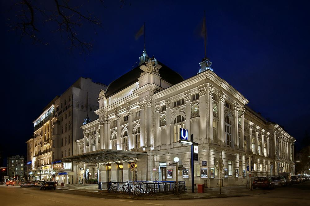 Dt. Schauspielhaus - Seitenansicht
