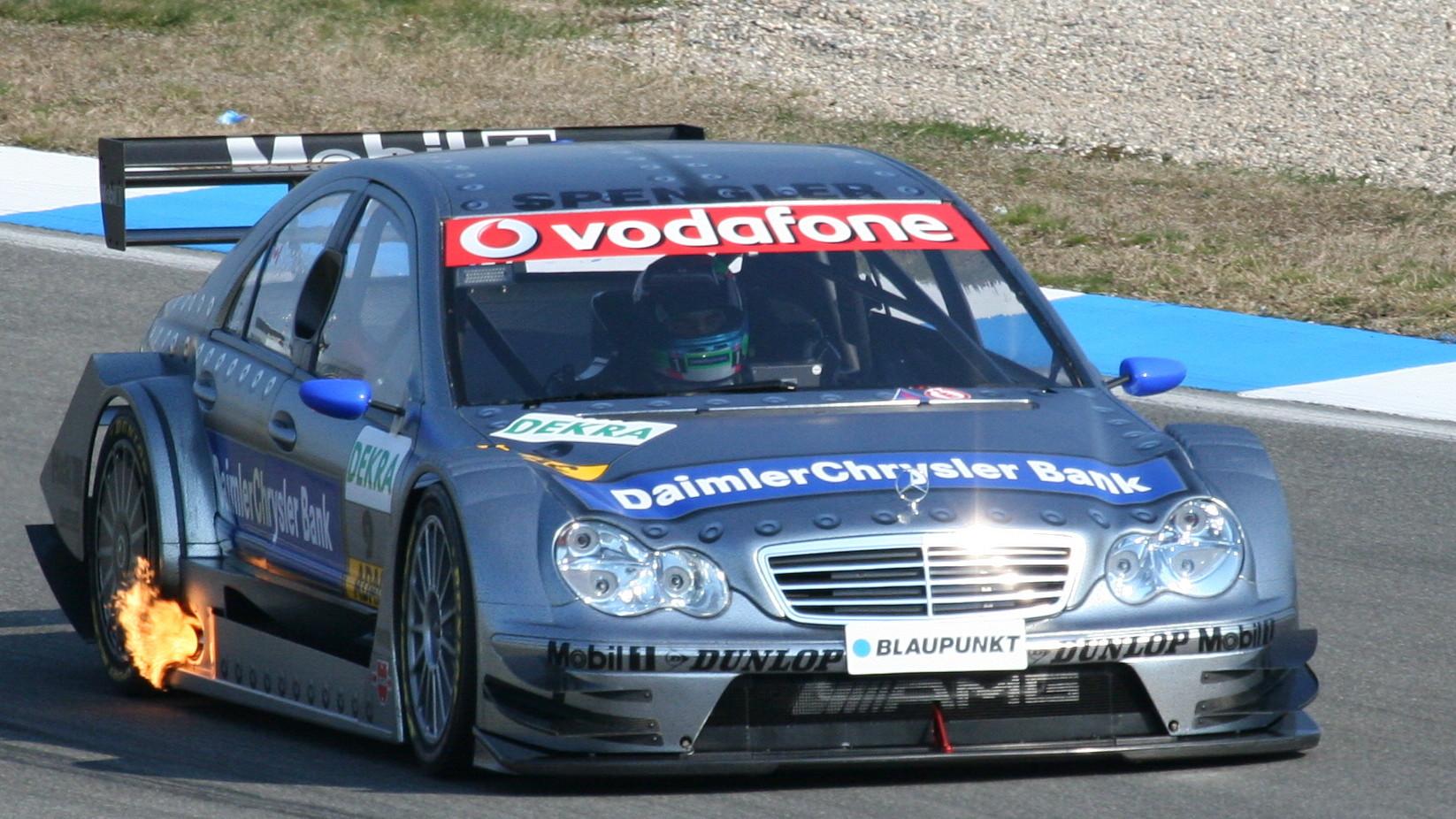 DTM 2006 Bruno Spengler im Mercedes