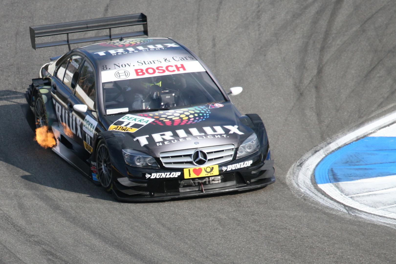 DTM 2008 Mercedes Ralf Schumacher