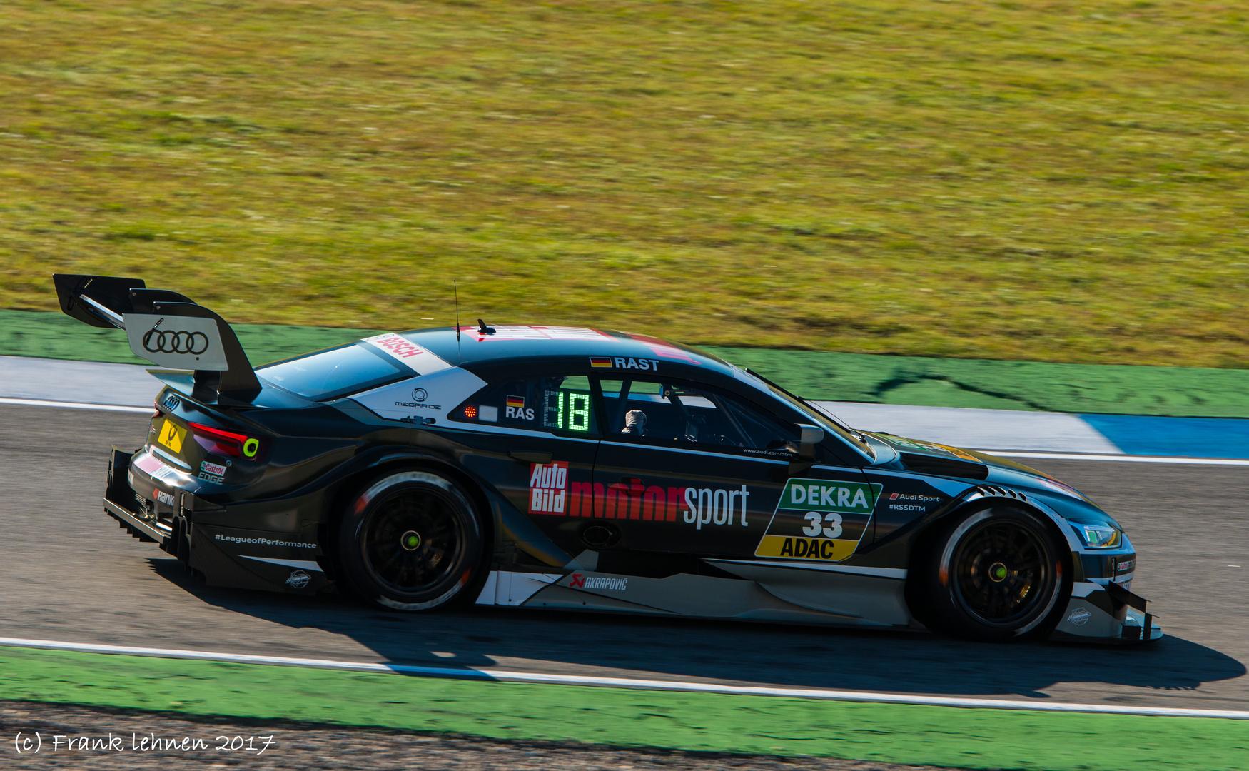 DTM Audi RS 5 - Rene Rast # 33