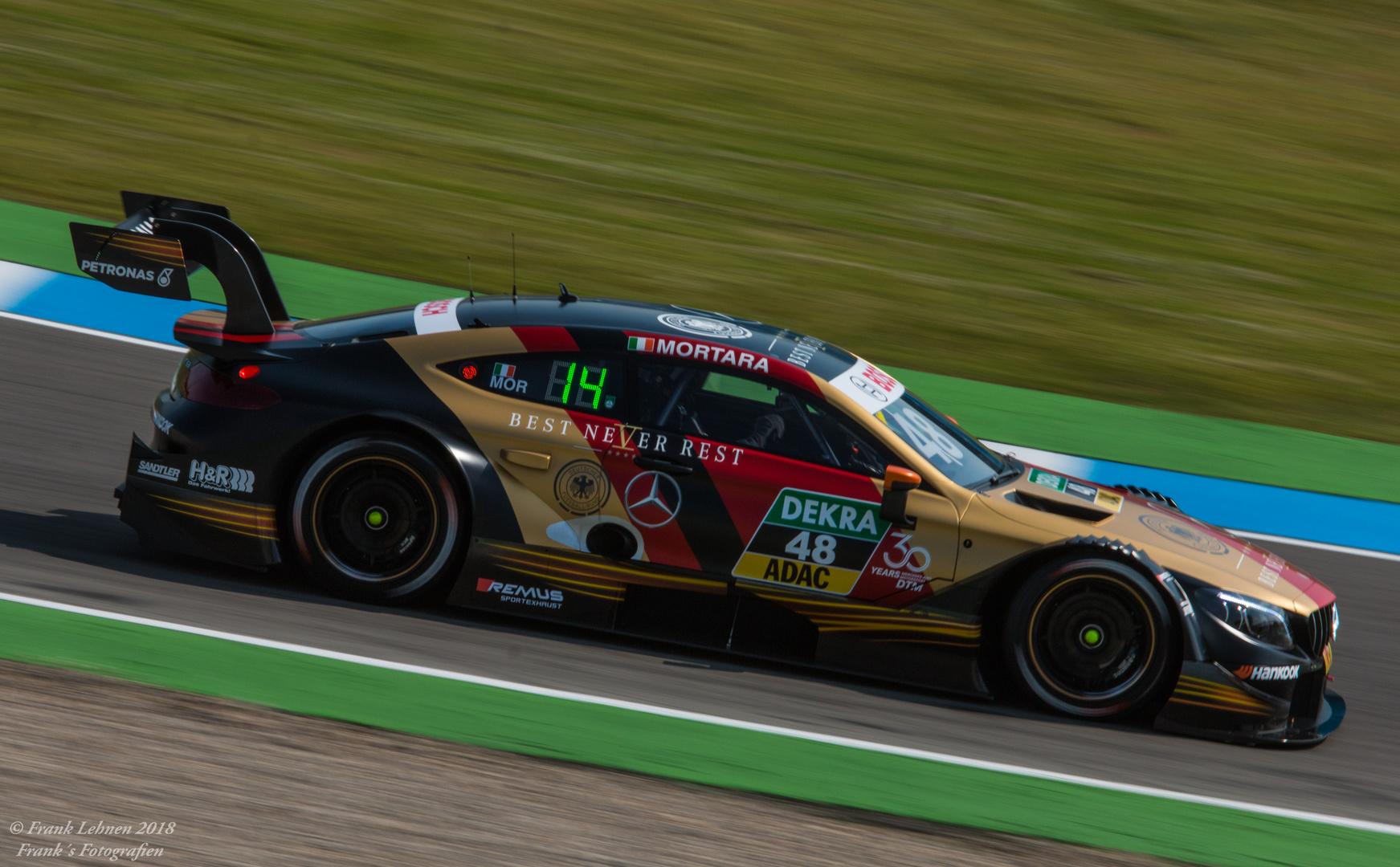 DTM Auftakt 2018 in Hockenheim - Edoardo Motara, Mercedes HWA # 48