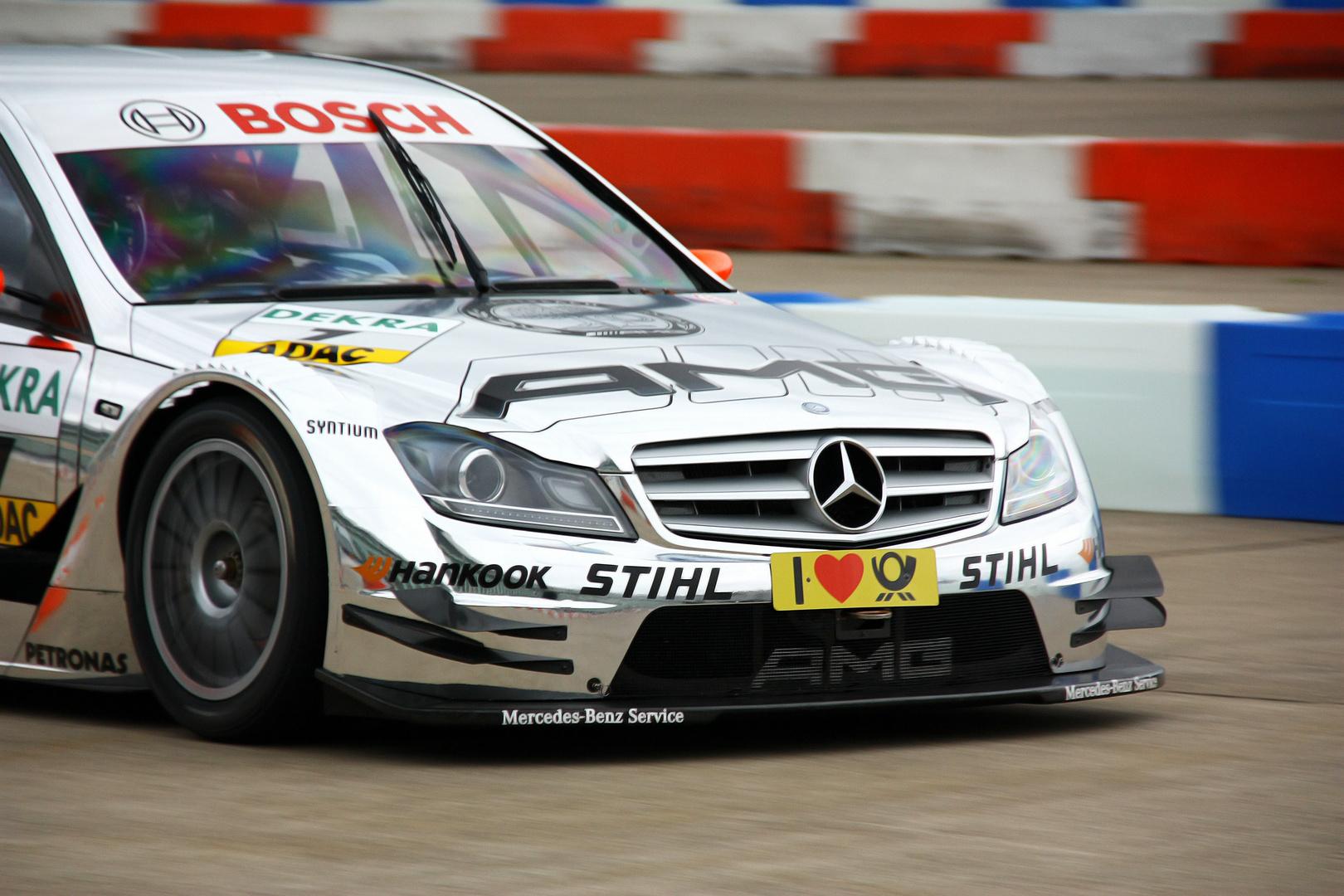 DTM beim Mercedes-Treffen in Berlin-Tempelhof