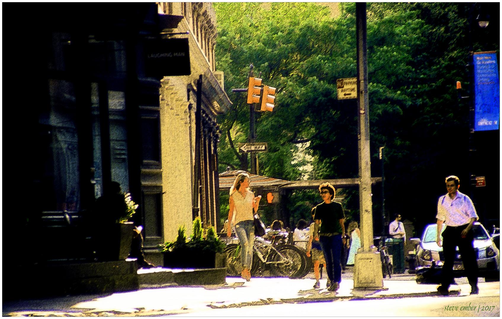 Duane Street Summer - a Tribeca Impression