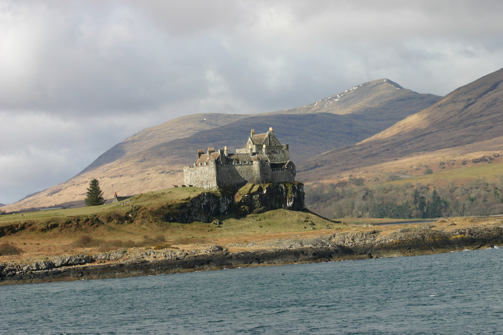 Duart Castle in Scotland