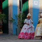 Duas Senhoras em Salvador da Bahia