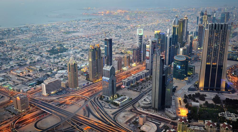 Dubai - Ausblick vom Burj Kalifa