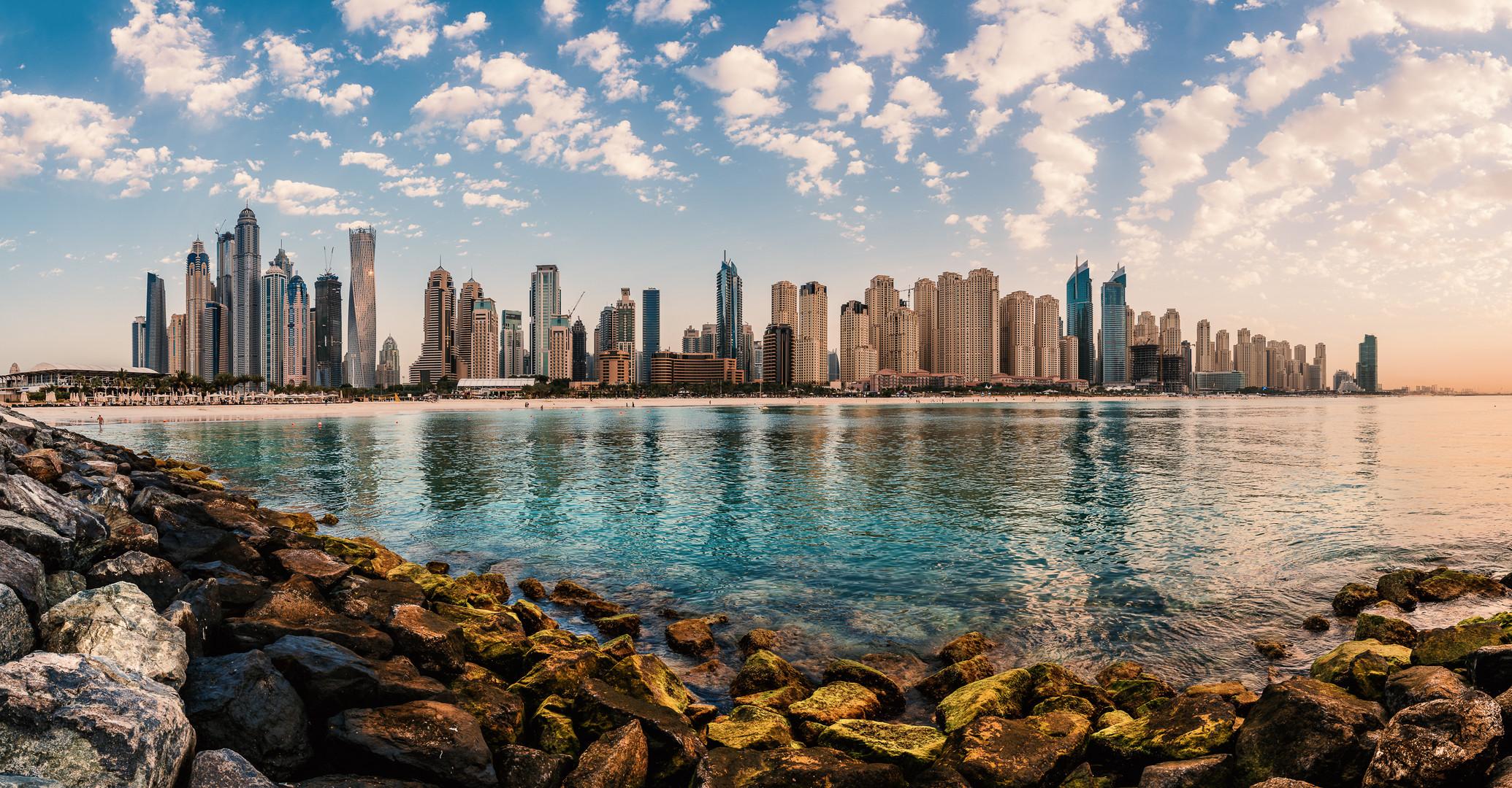 Dubai - Marina Beach Panorama