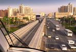 DUBAI - Monorail on Jumeirah Palm