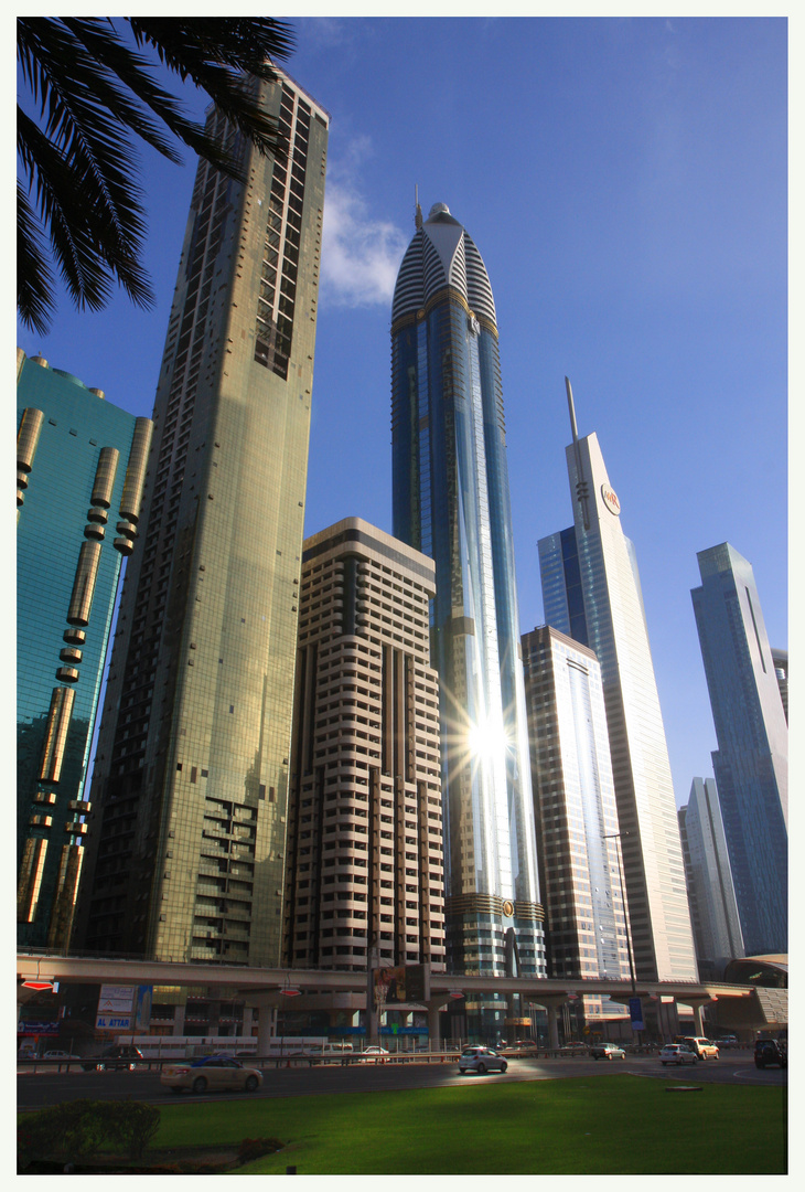 Dubai's shinning site!