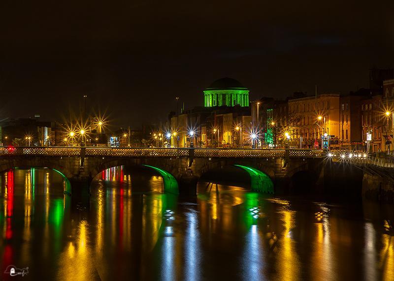 Dublin am St. Patrick's Day 2014