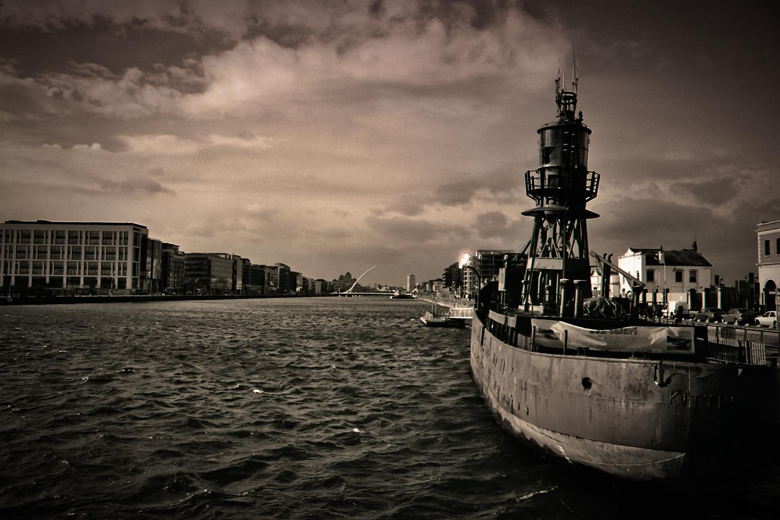 Dublin Hafen