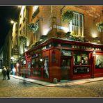 Dublin - lauer Abend in Temple Bar