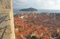 Dubrovnik 2015 Mauerwanderung