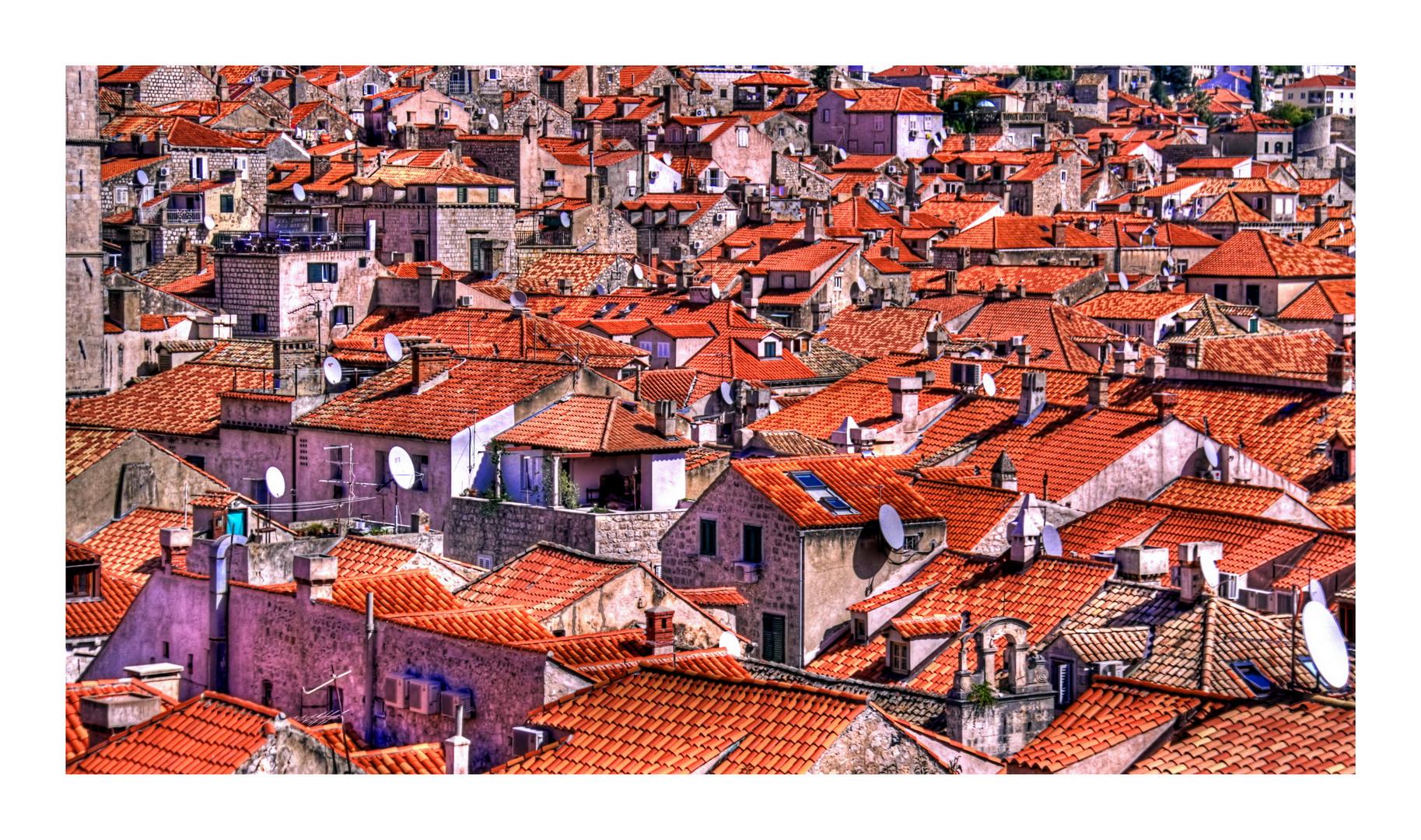 Dubrovnik Altstadt auf Empfang