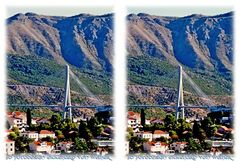 Dubrovnik Bridge 3D