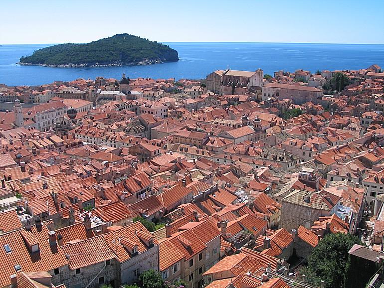 Dubrovnik, Dächer mit bewegter Geschichte...