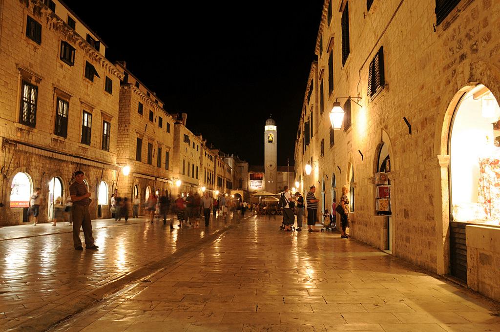 Dubrovnik schläft nicht....