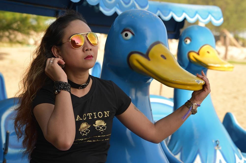 Duckface...
