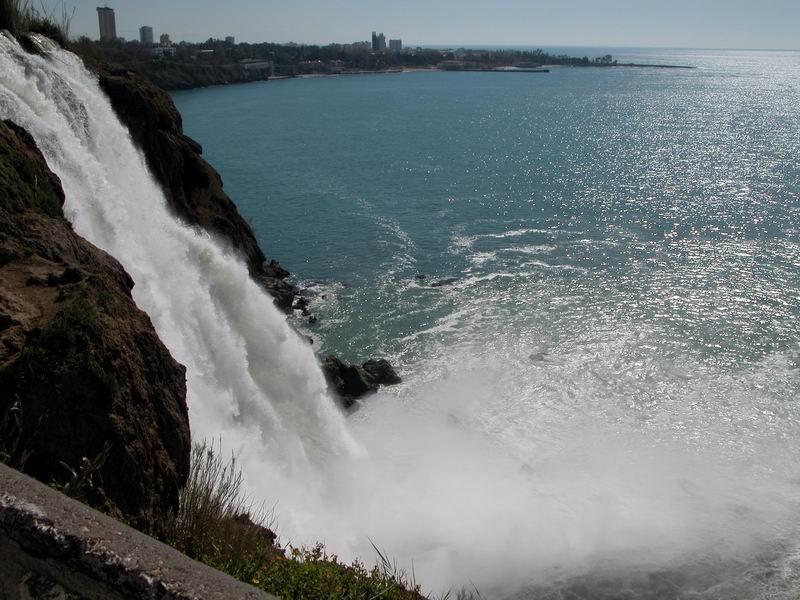 Düden-Wasserfall in Antalya