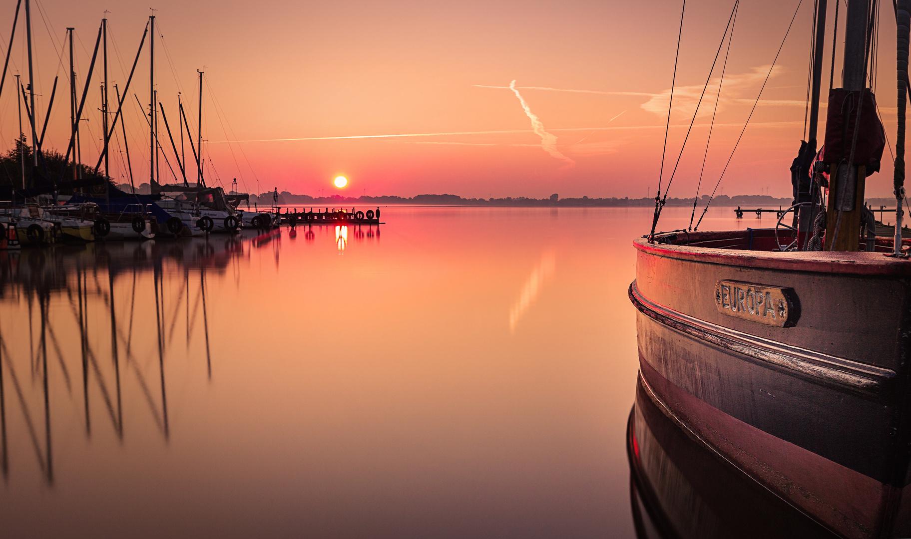 Dümmer.Sonnenaufgang
