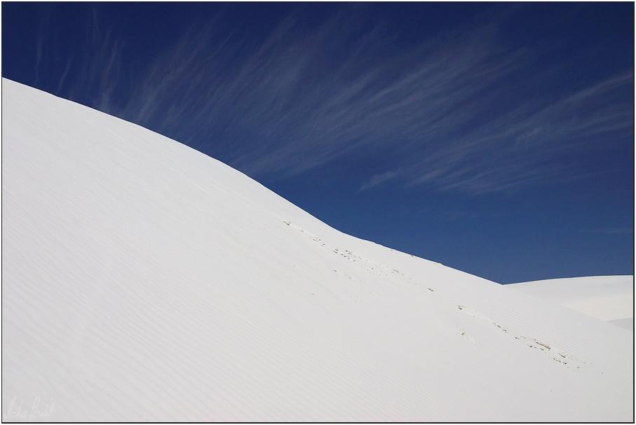 Düne in White Sand