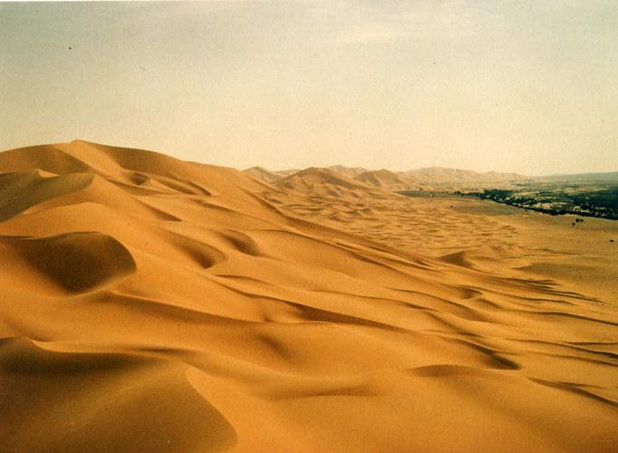 Dünen bei Kerzaz_Algerien