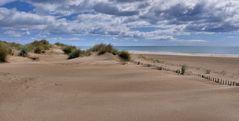 Dünen... Strand... und Meer...
