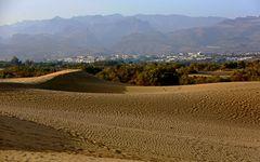 Dünen und Berge von Maspalomas
