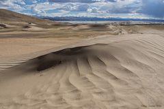 Dünenlandschaft am Yarlung Tsampo
