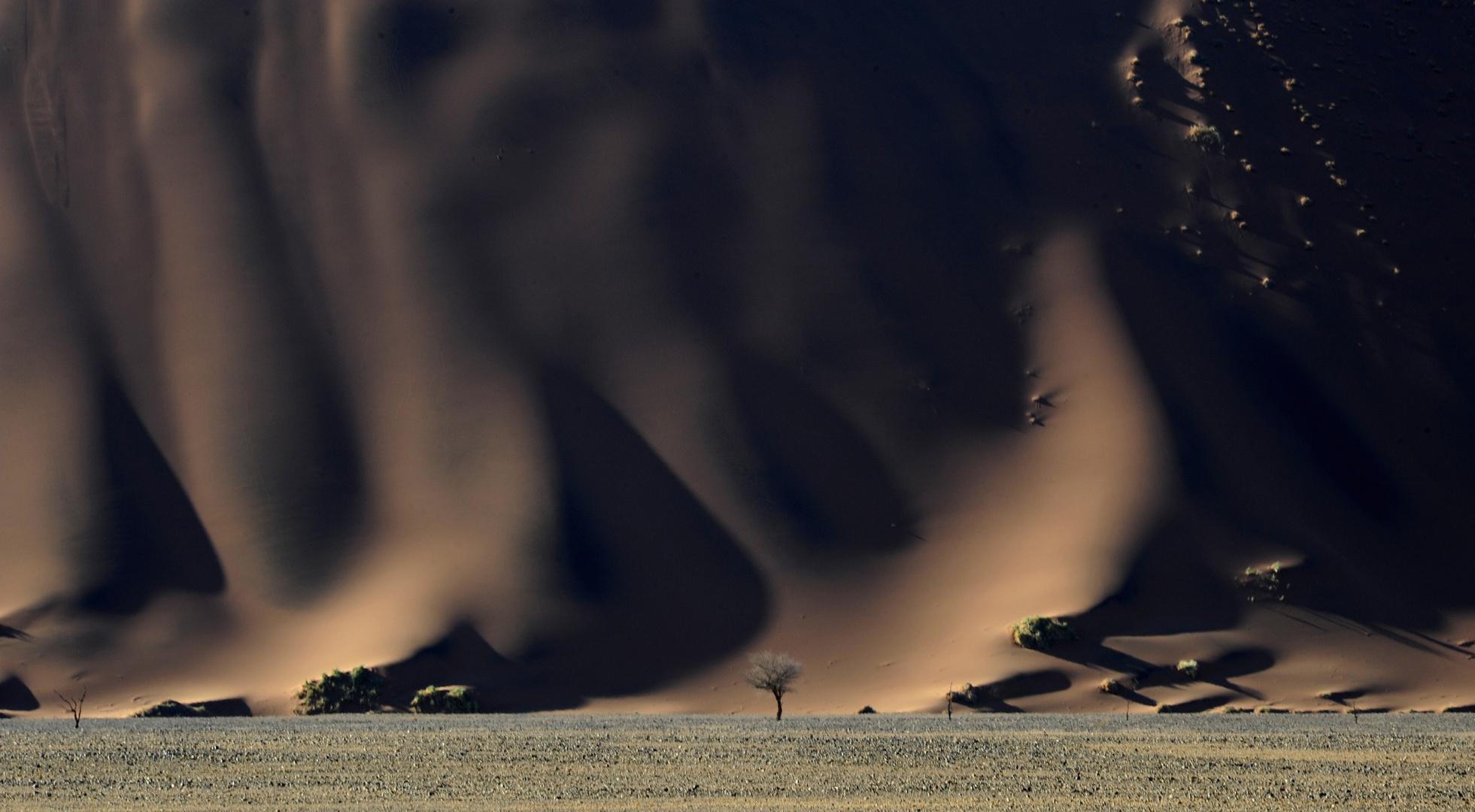 Duenenwand/Sossus Vlei Namibia -Dune Wall at Sossusvlei Namibia