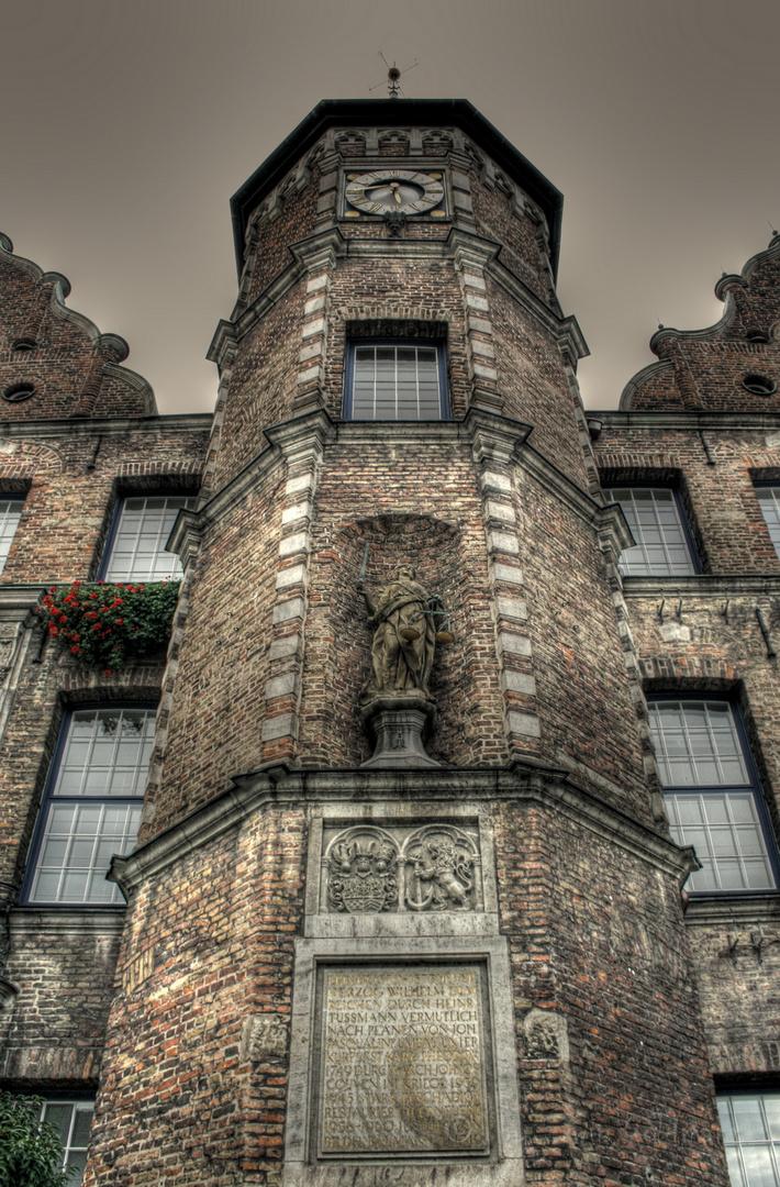 Düsseldorf am Rathaus