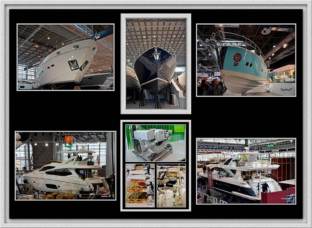 Düsseldorf - Bootsmesse - Luxusjachten und Motore
