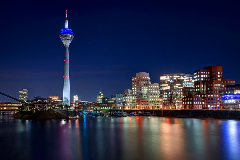 Bilder Düsseldorf Skyline
