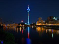 Düsseldorf City @ night
