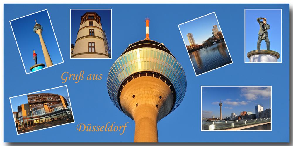 Düsseldorf - Collage