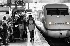 Düsseldorf HBF - Zug nach Berlin