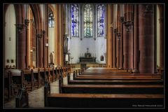 Düsseldorf Herz Jesu Kirche .....