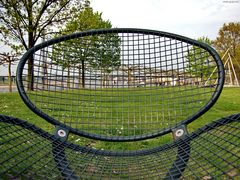 Düsseldorf hinter Gitter
