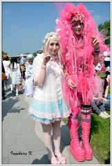 Düsseldorf - Japan-Fest 2014 - ein ungleiches Paar