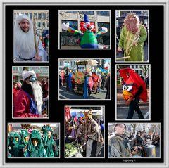 Düsseldorf - Karnevalssonntag auf der Kö - Impressionen 1